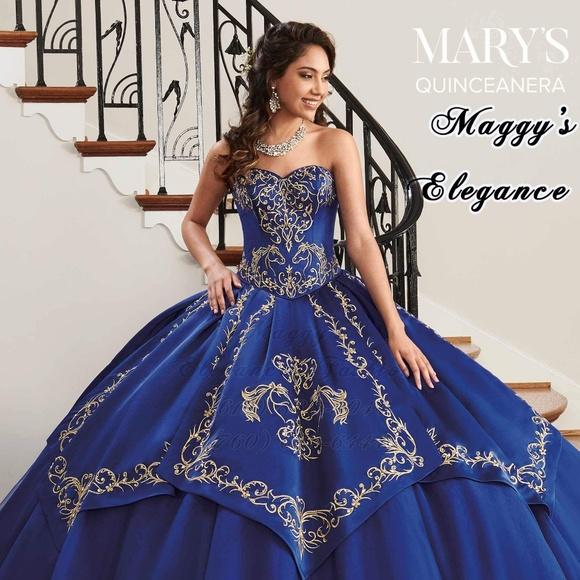 b8156e612f1 Mary s Quinceanera Charro style Dress